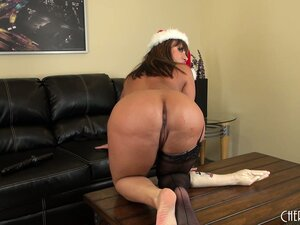 All Ava Devine wants for Christmas is a fake fist up her tight ass