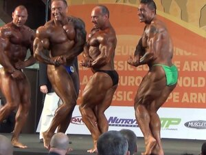 MUSCLEBULLS: Master bodybuilding over 90 kgs Arnold Classic Europe 2014